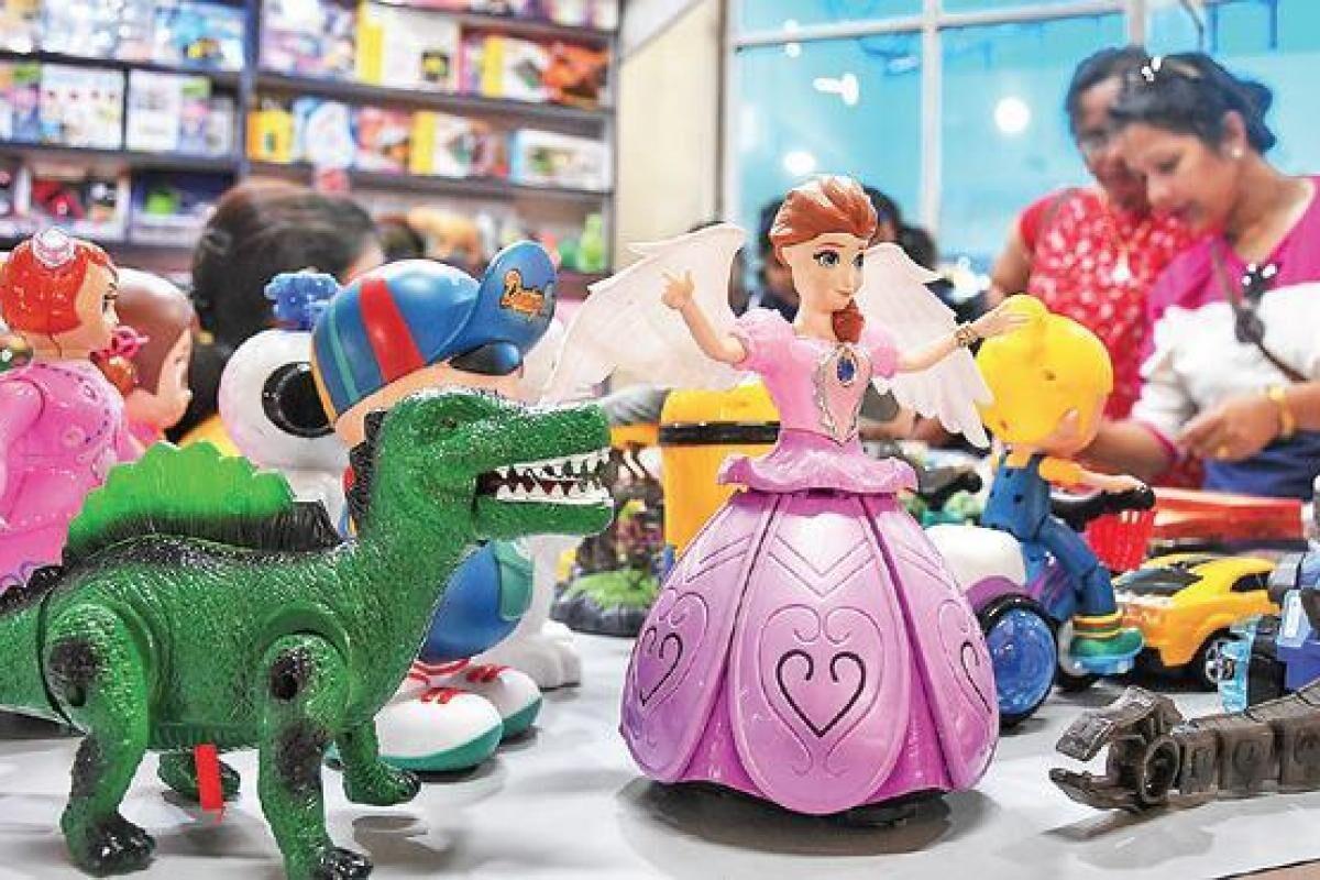 चीन के खिलौनों का मुहतोड़ जवाब, यूपी में बनेगी पहली टाॅय सिटी...