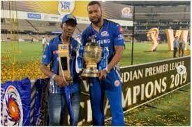 मुंबई इंडियंस के खिलाड़ी कीरोन पोलार्ड के पिता का निधन...