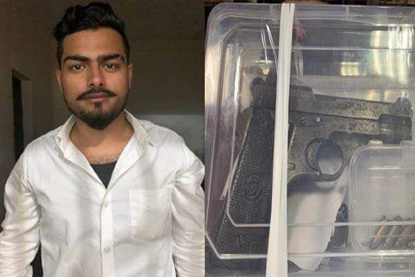 जमशेदपुर में पुलिस ने रोका तो बाइक सवार युवक ने जवान पर तान दी पिस्तौल