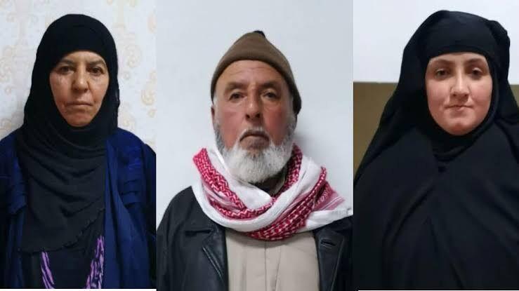 आईएसआईएससरगना बगदादी की बहन पकड़ी गई..........