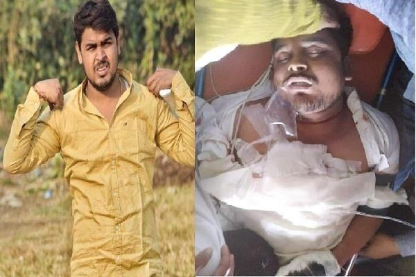 बस्ती में हुई भाजपा नेता की हत्या, लोगों में आक्रोश-