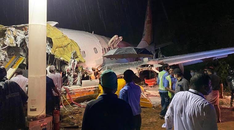 दुबई से आ रहा विमान केरल में दुर्घटनाग्रस्त , १५ लोगो की मौत कई गंभीर रूप से घायल