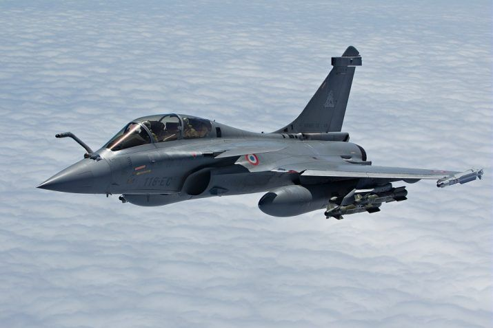Rafel Aircraft Acceptance received by IAF