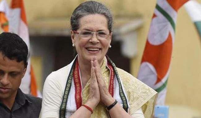 केन्द्रीय योजना की समीक्षा सोनिया गांधी नहीं कर पाएंगी