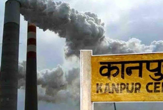 कानपुर : दीवाली में पटाखों के चलते वायु हुई प्रदूषित, 600 तक पहुंचा एयर क्वालिटी इंडेक्स