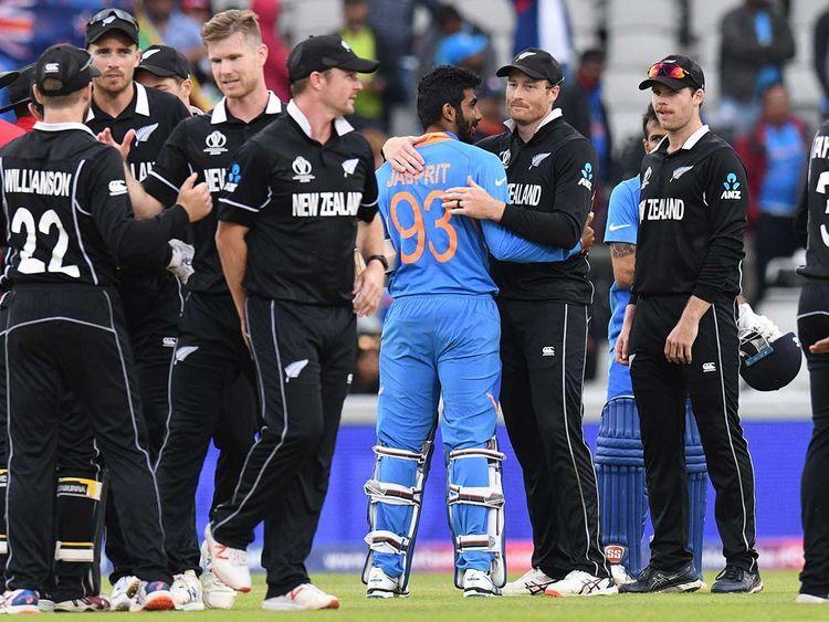 न्यूजीलैंड ने भारत को पांच विकेट से हराकर सूपड़ा साफ़ किया