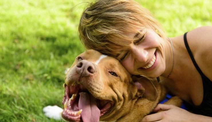 पालतू जानवरों के साथ वक़्त बिताने से स्ट्रेस लेवल कम होता है!
