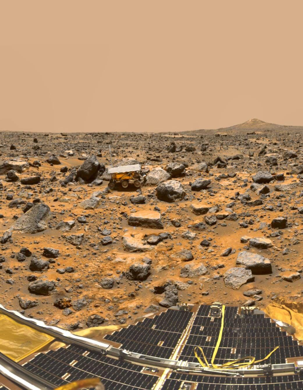 Remembring Mars pathfinder Mission