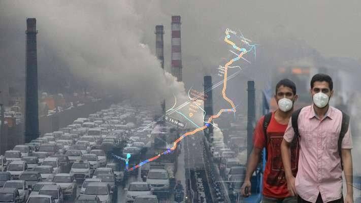वायु प्रदूषण में दिल्ली से आगे निकलता लखनऊ