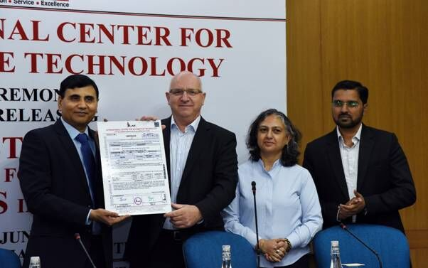 Indias first certificate in two-wheeler segment for the BS-VI norms