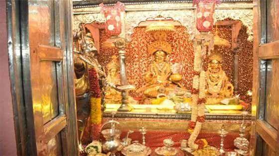 भक्तों के लिए खुले अन्नपूर्णा माता के द्वार:--