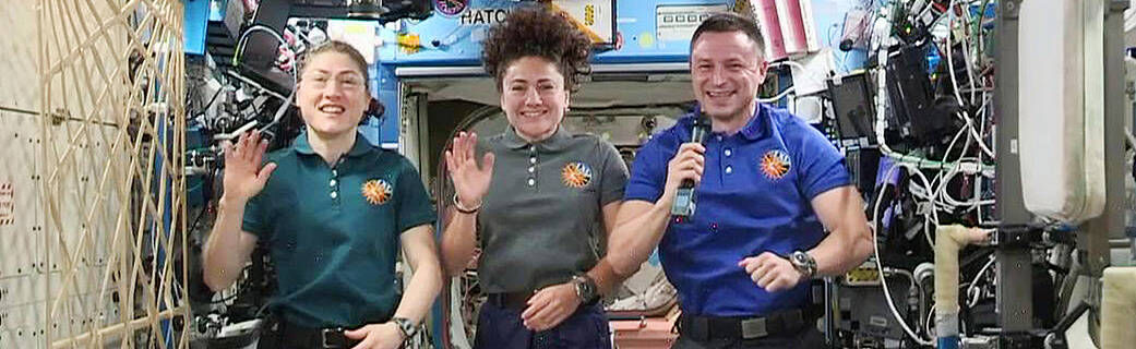 Now  Stream Live from space