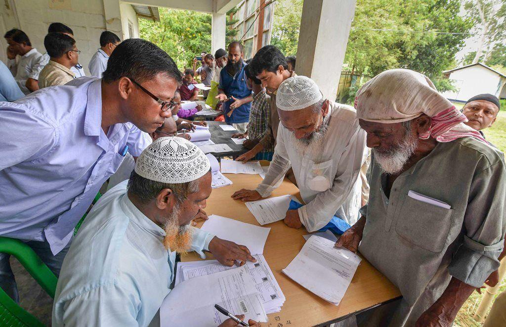 असम में आज एनआरसी की फाइनल लिस्ट के मद्देनजर कड़ी की गई  सुरक्षा