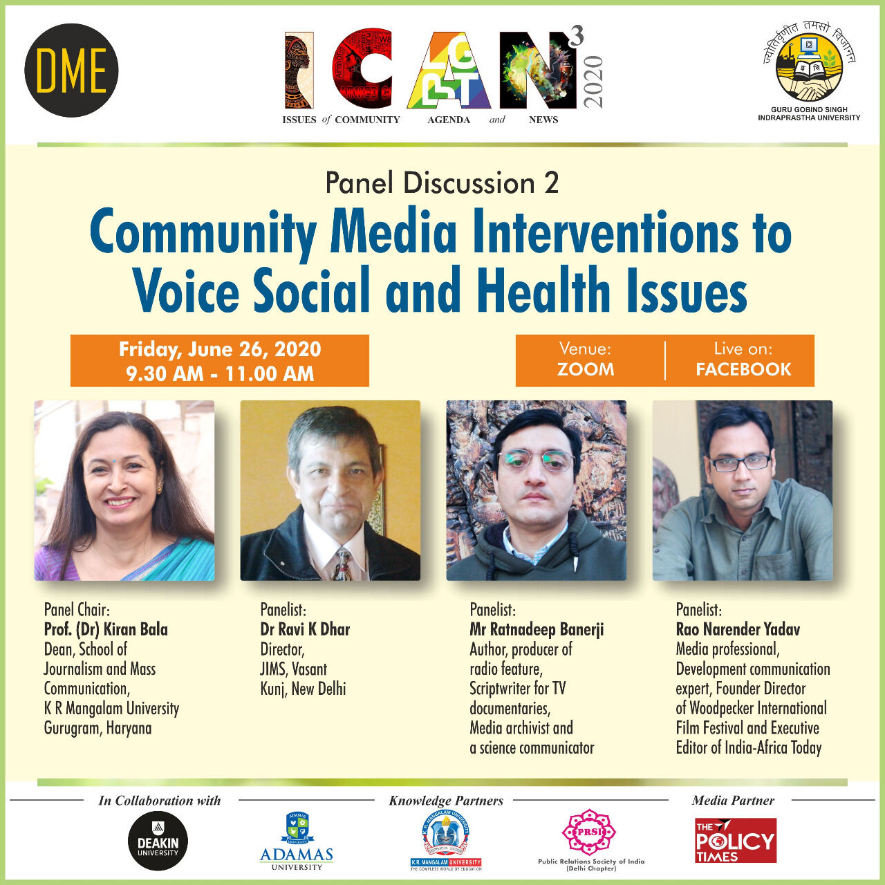 Community Media Interventions to Voice Social and Health Issues