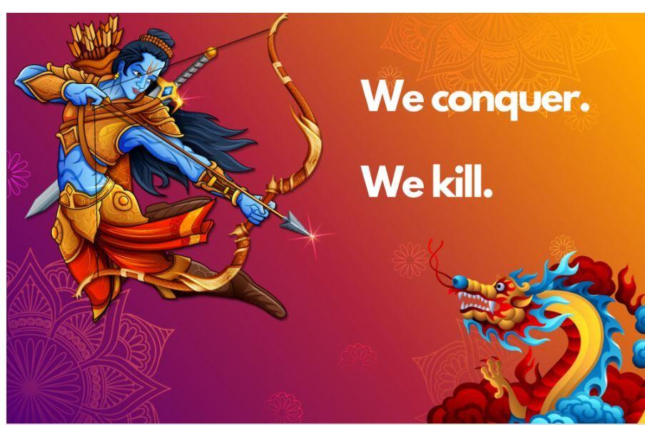 We Conquer. We kill