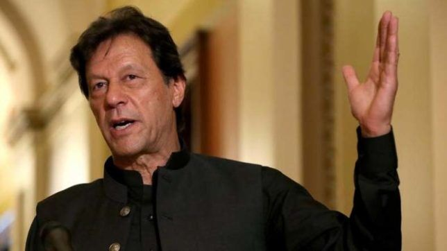 जम्मू कश्मीर को मुसलमान समस्या बताया : इमरान खान