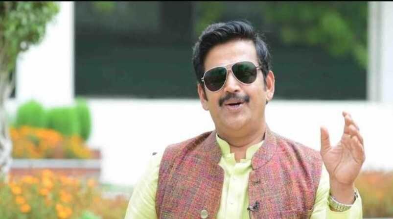 सांसद रवि किशन ने नागरिकों से ट्रैफिक नियमों के पालन की अपील की