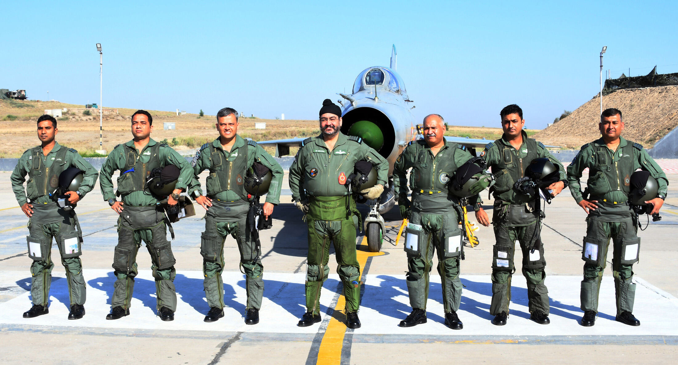 Homage to the air warriors who made supreme sacrifice during operation Safed Sagar