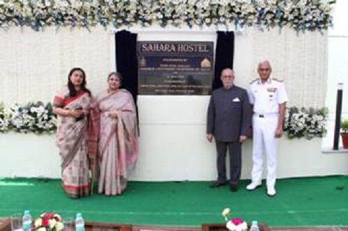 A naval hostel --Sahara - inaugurated by shri Anil vaijal