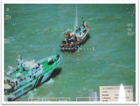 Coast Guard captures Pakistani boat