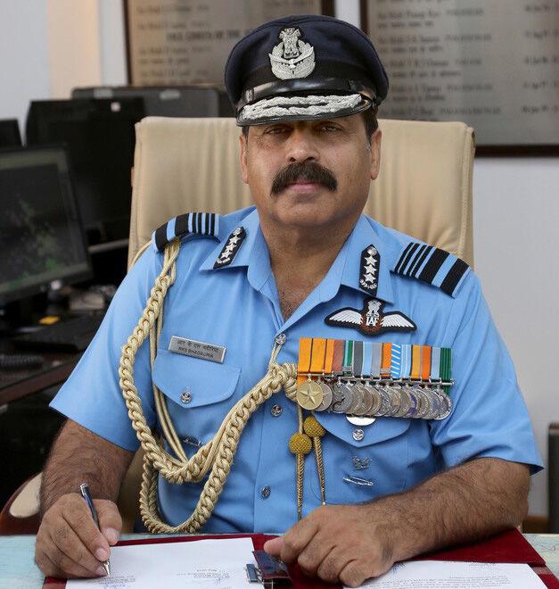 एयर मार्शल राकेश कुमार सिंह भदौरिया वायु सेना के उपप्रमुख के रूप में कार्यभार ग्रहण किया