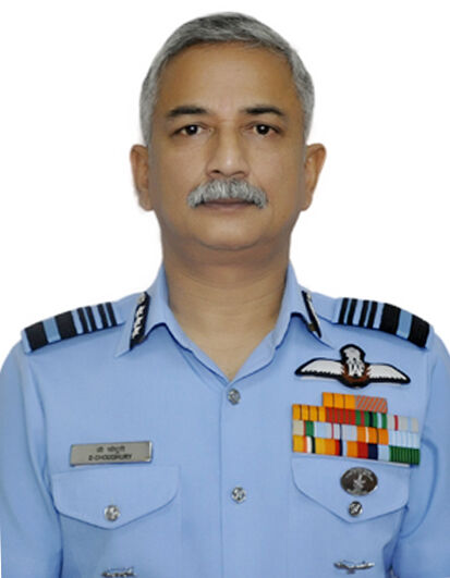 Air Marshal D Choudhury AVSM VM VSM takes over as SASO Hq WAC