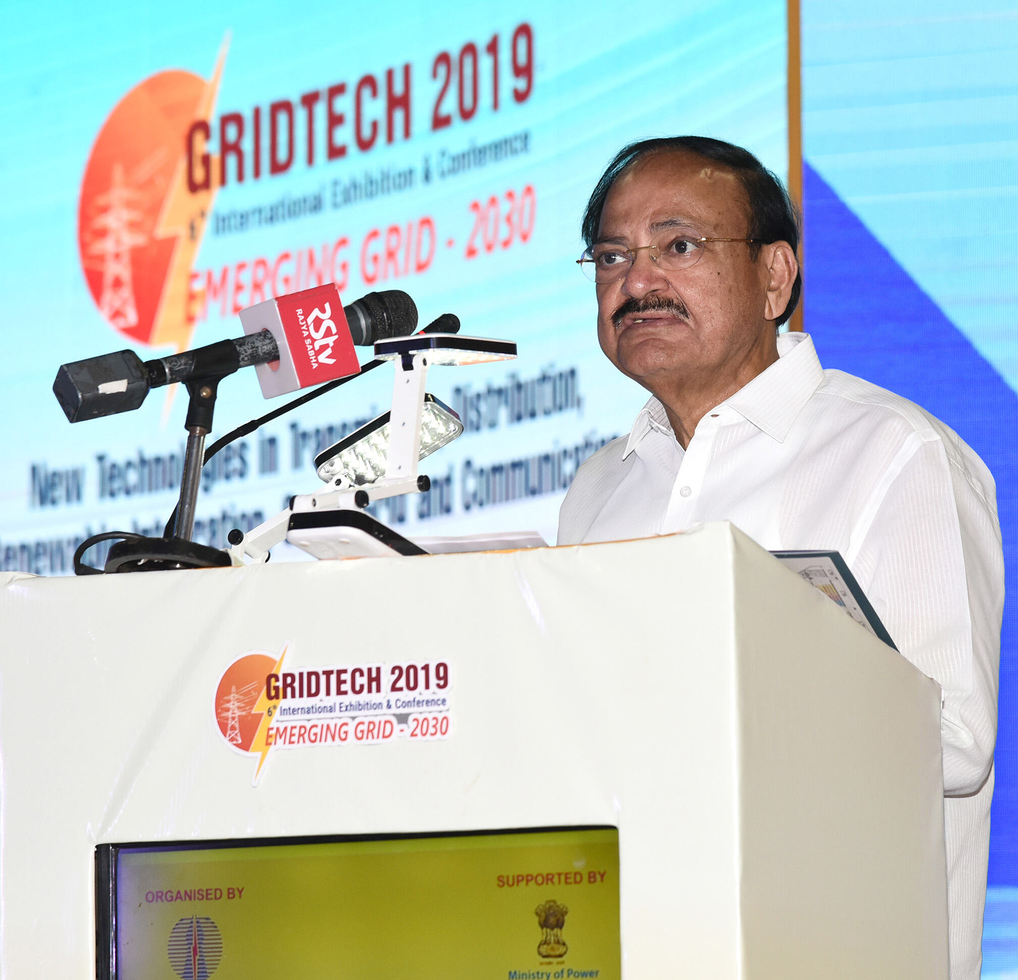 Promote new & renewable energy to ensure energy security, to protect climate & to reduce pollution: Vice President