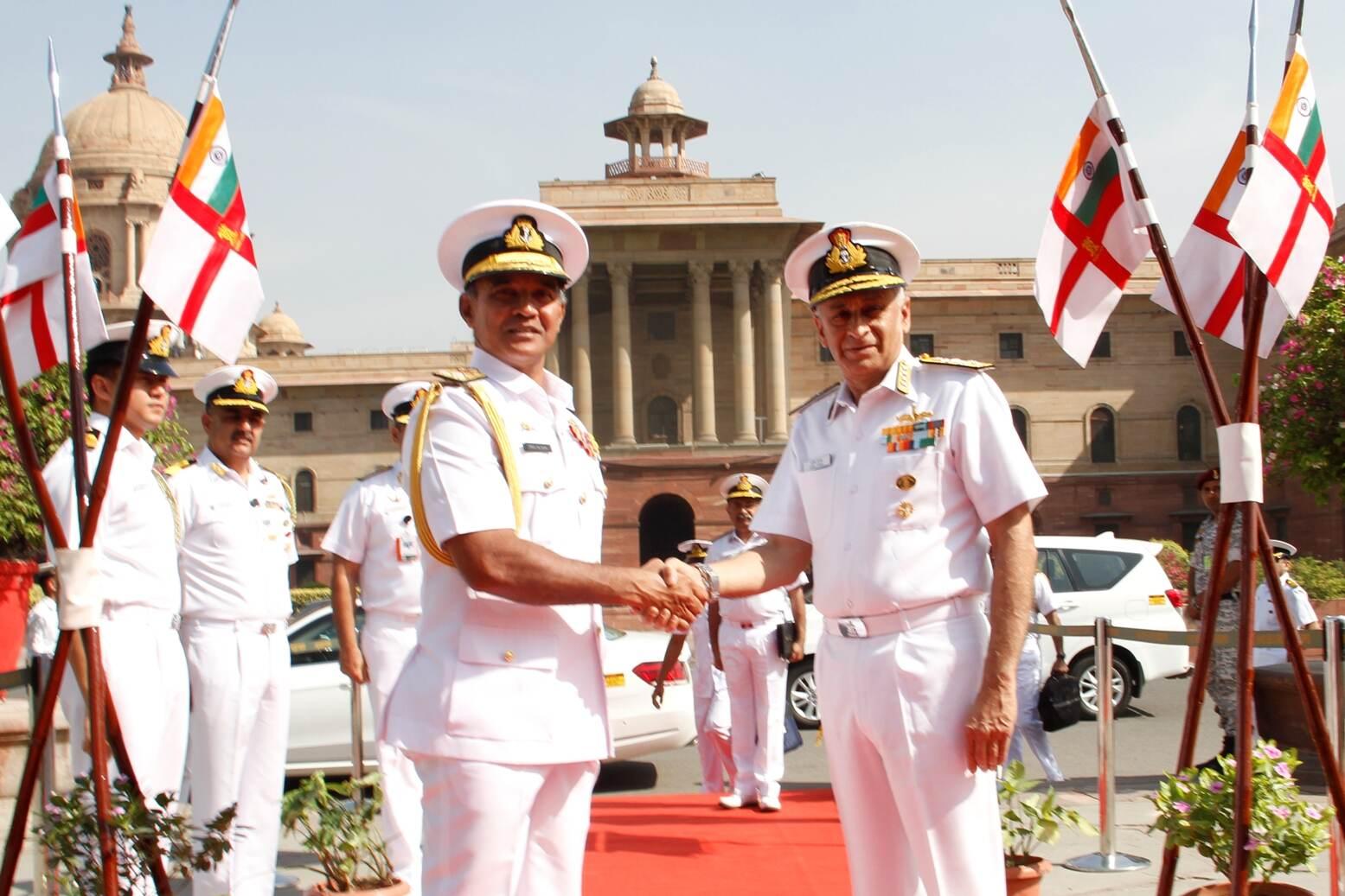 Visit of Vice Admiral Piyal De Silva, Commander of the Sri Lankan Navy