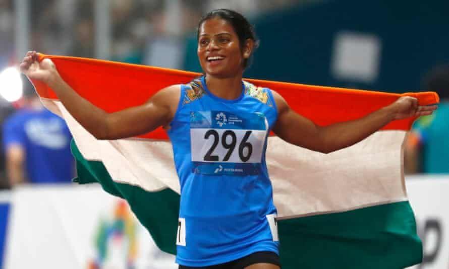 भारतीय धाविका दुती चंद का फिर गोल्ड पर कब्जा